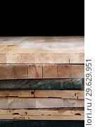 Купить «Grunge wood board texture with natural pattern», фото № 29629951, снято 31 декабря 2018 г. (c) bashta / Фотобанк Лори