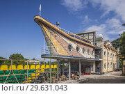 Nagorno Karabakh Republic, Vank, Eclectic Hotel, exterior. Стоковое фото, фотограф Walter Bibikow / age Fotostock / Фотобанк Лори