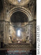 Nagorno Karabakh Republic, Vank, Gandzasar Monastery, 5th century, altar. Стоковое фото, фотограф Walter Bibikow / age Fotostock / Фотобанк Лори
