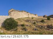 Nagorno Karabakh Republic, Askeran, Mayraberd Fortress, 18th century, fortress ruins. Стоковое фото, фотограф Walter Bibikow / age Fotostock / Фотобанк Лори