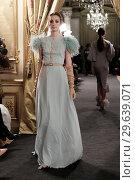 Купить «Madrid Fashion Week Atelier Couture - Rafael Urquiza - Catwalk Featuring: Model Where: Madrid, Spain When: 14 Mar 2018 Credit: Oscar Gonzalez/WENN.com», фото № 29639071, снято 14 марта 2018 г. (c) age Fotostock / Фотобанк Лори