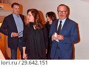Heiko Kiesow, Katarina Witt, Iris Berben, Christian Schertz at the... (2018 год). Редакционное фото, фотограф AEDT / WENN.com / age Fotostock / Фотобанк Лори