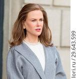 Купить «On Location with The Goldfinch Featuring: Nicole Kidman Where: New York, New York, United States When: 13 Mar 2018 Credit: WENN.com», фото № 29643599, снято 13 марта 2018 г. (c) age Fotostock / Фотобанк Лори