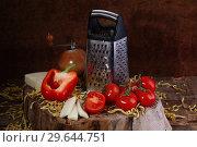 Купить «Ingredients for Pasta», фото № 29644751, снято 22 января 2017 г. (c) Марина Володько / Фотобанк Лори