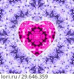 Valentines day colorful background with hearts shape. Стоковая иллюстрация, иллюстратор bashta / Фотобанк Лори