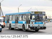 Купить «Neman Liaz 52565», фото № 29647975, снято 17 августа 2012 г. (c) Art Konovalov / Фотобанк Лори