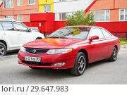 Купить «Toyota Camry Solara», фото № 29647983, снято 31 августа 2012 г. (c) Art Konovalov / Фотобанк Лори