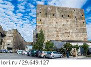 Купить «WW2: remains of the German Atlantic wall in Brittany. The U-boot base in Lorient», фото № 29649127, снято 19 сентября 2017 г. (c) Николай Коржов / Фотобанк Лори