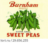 Купить «Sweet Peas», фото № 29656255, снято 22 января 2019 г. (c) age Fotostock / Фотобанк Лори