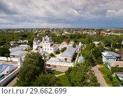 Купить «Aerial view of Annunciation Monastery in Murom», фото № 29662699, снято 13 июня 2018 г. (c) Яков Филимонов / Фотобанк Лори