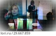 Купить «Young Caucasian Woman», видеоролик № 29667859, снято 1 марта 2008 г. (c) Wavebreak Media / Фотобанк Лори