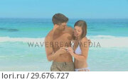 Couple taking photos of themselves. Стоковое видео, агентство Wavebreak Media / Фотобанк Лори