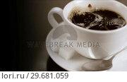 Купить «Sugar falling in super slow motion», видеоролик № 29681059, снято 24 февраля 2012 г. (c) Wavebreak Media / Фотобанк Лори