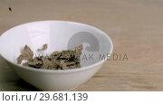 Wheat cereals falling in super slow motion. Стоковое видео, агентство Wavebreak Media / Фотобанк Лори