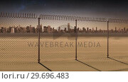 Купить «Conceptual borders animation for modern city», видеоролик № 29696483, снято 26 июня 2019 г. (c) Wavebreak Media / Фотобанк Лори