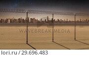 Купить «Conceptual borders animation for modern city», видеоролик № 29696483, снято 19 августа 2019 г. (c) Wavebreak Media / Фотобанк Лори