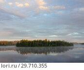 Купить «Forest lake in summer», фото № 29710355, снято 6 августа 2015 г. (c) Argument / Фотобанк Лори