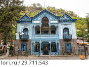 Купить «House of Mirza-Riza-Khan, Borjomi», фото № 29711543, снято 26 сентября 2018 г. (c) Юлия Бабкина / Фотобанк Лори