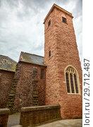 St Martin's Church in Cathedral Close. Exeter. Devon. England (2009 год). Стоковое фото, фотограф Serg Zastavkin / Фотобанк Лори