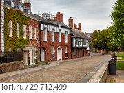 Купить «Houses in the area of Exeter Cathedral Close. Exeter. Devon. England», фото № 29712499, снято 12 мая 2009 г. (c) Serg Zastavkin / Фотобанк Лори