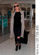 Kristin Cavallari arrives at Los Angeles International (LAX) Airport (2018 год). Редакционное фото, фотограф WENN.com / age Fotostock / Фотобанк Лори