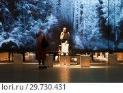 """Купить «Выставка """"Христос в темнице"""". Центральный выставочный зал """"Манеж"""". Санкт-Петербург», эксклюзивное фото № 29730431, снято 16 января 2019 г. (c) Румянцева Наталия / Фотобанк Лори"""