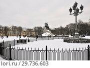 Купить «Санкт-Петербург. Сенатская площадь», эксклюзивное фото № 29736603, снято 5 января 2019 г. (c) Александр Алексеев / Фотобанк Лори