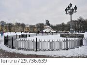Купить «Санкт-Петербург. Сенатская площадь», эксклюзивное фото № 29736639, снято 5 января 2019 г. (c) Александр Алексеев / Фотобанк Лори