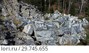 Купить «Мрамор», фото № 29745655, снято 4 сентября 2014 г. (c) Евгений Веселов / Фотобанк Лори