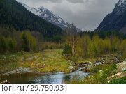 Купить «Spring in mountains», фото № 29750931, снято 5 мая 2014 г. (c) александр жарников / Фотобанк Лори