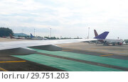 Купить «International Phuket Airport», видеоролик № 29751203, снято 25 ноября 2018 г. (c) Игорь Жоров / Фотобанк Лори