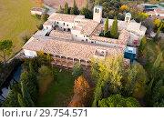 Купить «Cultural complex Mon Sant Benet, Catalonia», фото № 29754571, снято 25 ноября 2018 г. (c) Яков Филимонов / Фотобанк Лори