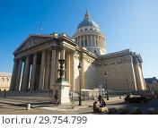 Купить «Pantheon in Latin Quarter, Paris», фото № 29754799, снято 10 октября 2018 г. (c) Яков Филимонов / Фотобанк Лори