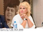 Купить «Актриса Евгения Лютая», фото № 29761099, снято 9 октября 2018 г. (c) Владимир Ковальчук / Фотобанк Лори