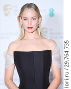 Купить «71st EE British Academy Film Awards (BAFTA) - Press Room Featuring: Jennifer Lawrence Where: London, United Kingdom When: 18 Feb 2018 Credit: WENN.com», фото № 29764735, снято 18 февраля 2018 г. (c) age Fotostock / Фотобанк Лори
