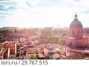 Купить «Saint Joseph de la Grave chapel, Toulouse, France», фото № 29767515, снято 27 июля 2017 г. (c) Сергей Новиков / Фотобанк Лори