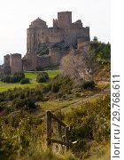 Купить «Loarre Castle, Huesca Province, Aragon, Spain», фото № 29768611, снято 2 декабря 2018 г. (c) Яков Филимонов / Фотобанк Лори