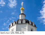Купить «Dome of Ascension Gate Church of Sviyazhsk Monastery», фото № 29786275, снято 11 июня 2018 г. (c) FotograFF / Фотобанк Лори