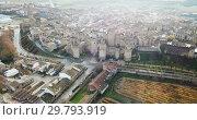 Купить «Towers of castle Palacio Real de Olite. Spain», видеоролик № 29793919, снято 20 декабря 2018 г. (c) Яков Филимонов / Фотобанк Лори