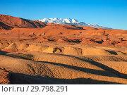 Купить «Landscape in Atlas Mountains Morocco», фото № 29798291, снято 11 февраля 2018 г. (c) Михаил Коханчиков / Фотобанк Лори