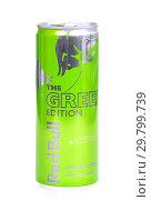 Купить «Red Bull The Green Edition», фото № 29799739, снято 26 января 2019 г. (c) Art Konovalov / Фотобанк Лори