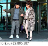 Купить «Katie Price leaves Portcullis House, with her mother Amy and son Harvey, after addressing a parliamentary sub-committee on on-line hate Featuring: Katie...», фото № 29806587, снято 6 февраля 2018 г. (c) age Fotostock / Фотобанк Лори