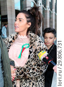 Купить «Katie Price leaves Portcullis House, with her mother Amy and son Harvey, after addressing a parliamentary sub-committee on on-line hate Featuring: Katie...», фото № 29806731, снято 6 февраля 2018 г. (c) age Fotostock / Фотобанк Лори