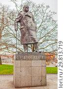 Купить «Памятник Уинстону Черчиллю. Прага. Чехия», фото № 29813719, снято 22 декабря 2015 г. (c) Сергей Афанасьев / Фотобанк Лори