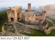 Купить «Top view of the castle Castillo de Javier. Huesca Province. Aragon. Spain», фото № 29821807, снято 3 декабря 2018 г. (c) Яков Филимонов / Фотобанк Лори