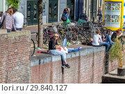 Купить «Амстердам. Каналы города», фото № 29840127, снято 1 мая 2011 г. (c) Parmenov Pavel / Фотобанк Лори