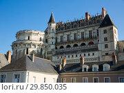 Chateau d'Amboise in Amboise (2018 год). Редакционное фото, фотограф Яков Филимонов / Фотобанк Лори