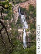 Купить «Sant Miquel del Fai with water cascades», фото № 29852255, снято 5 мая 2018 г. (c) Яков Филимонов / Фотобанк Лори