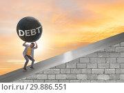 Купить «Concept of student loan and expensive education», фото № 29886551, снято 19 марта 2019 г. (c) Elnur / Фотобанк Лори