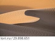 Купить «Background with sandy dunes in desert», фото № 29898651, снято 12 февраля 2018 г. (c) Михаил Коханчиков / Фотобанк Лори